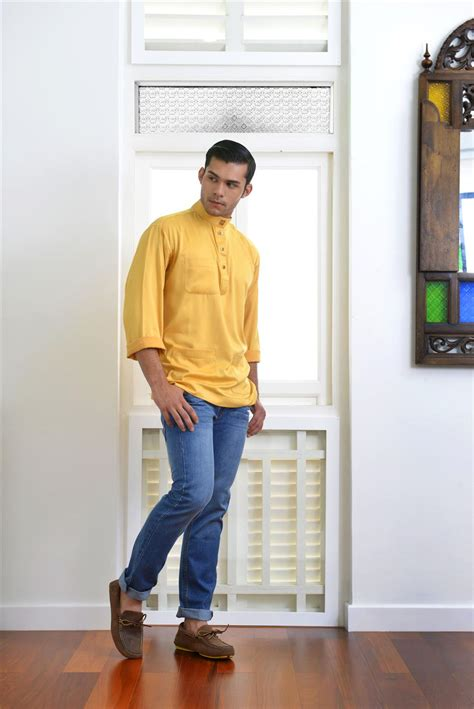 Baju Melayu Gold hari raya collection from parkson is all about comfort and elegance star2