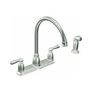 Moen Touch Kitchen Faucet by Moen Inc Ca87000srs Stainless Steel Kitchen Faucet