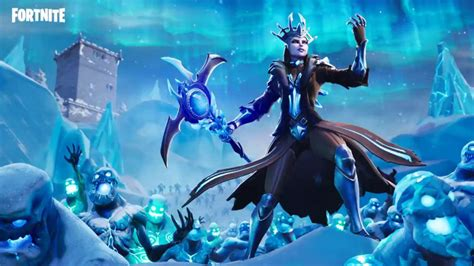 fortnite ice storm challenge guide day  destroy ice fiends damage ice legion gamespot