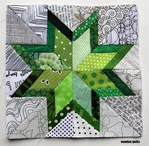 free paper pattern wombat quilts