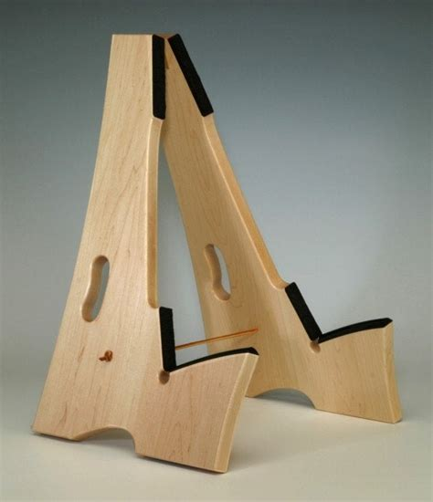 wood project ideas woodworking plans guitar stand
