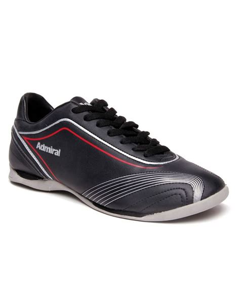 admiral sport shoes admiral circuit black sports shoes price in india buy
