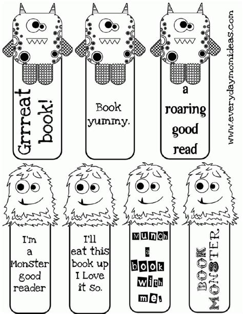 printable bookmarks for young adults 8 best images of bookmark adult coloring printables free