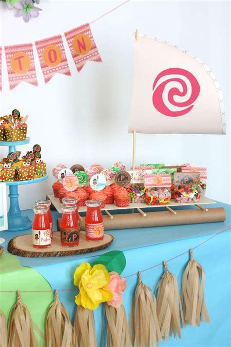 party themes on a boat moana boat tropical hawaiian moana birthday party ideas