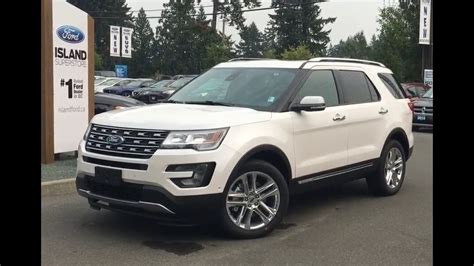2017 ford explorer limited review 2017 ford explorer limited trailer tow nav awd review