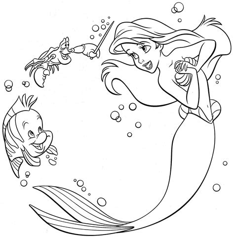cute ariel coloring pages coloring pages free little mermaid coloring pages image 20 gianfreda net