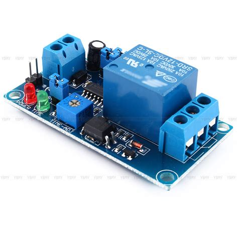 Relay Power Ly 12v dc relay switch module trigger turn on delay turn