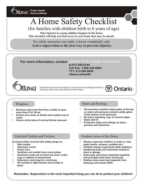 25 best ideas about home safety checklist on