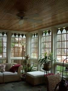 Sun Porch Porches Sun And Wood Ceilings On