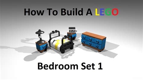 how to build a bedroom how to build a lego bedroom set type 1 custom moc