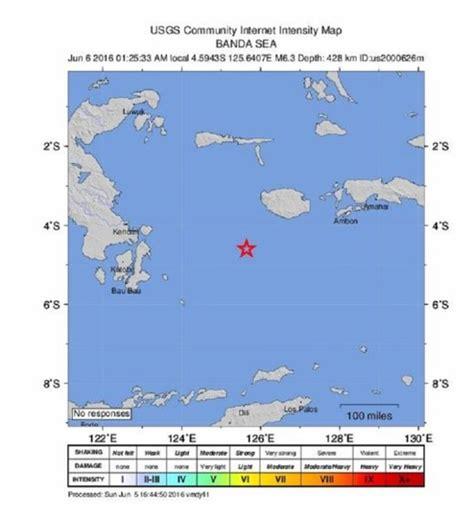 earthquake hits indonesia a 6 3 magnitude earthquake hits indonesia earth changes
