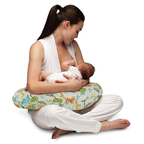 Comfort Nursing Newborn by Baby Boppy Nursing Pillow Positioner Feeding Design