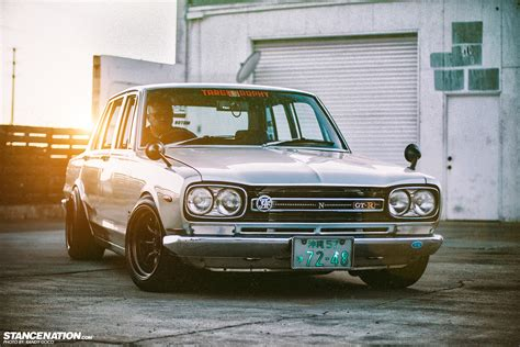 nissan hakosuka classic beauty skyline mike s hakosuka stancenation