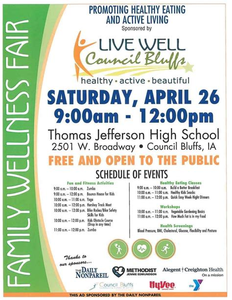 Images Health Fair Poster Template Of Wellness Fair Poster Template Infovianetrhinfovianet Job Wellness Template