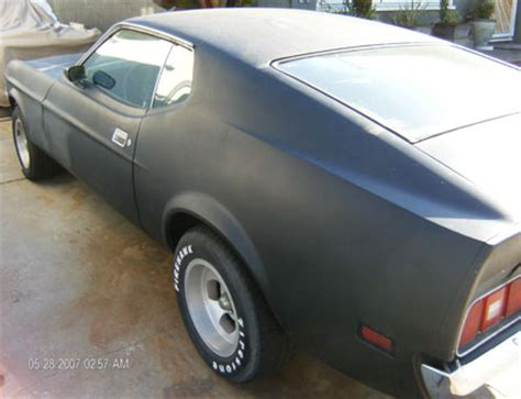 71 mustang fastback for sale 1971 mustang fastback