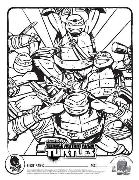 teenage mutant ninja turtles christmas coloring pages ninja turtle coloring pages coloring home