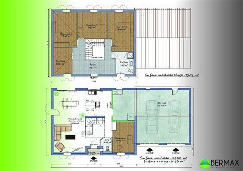 Plan Maison étage 4 Chambres 4289 by Plan De Maison Tage 4 Chambres Stunning Plan