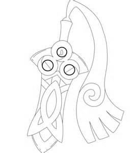 pokemon coloring pages inkay honedge coloring page free printable coloring pages