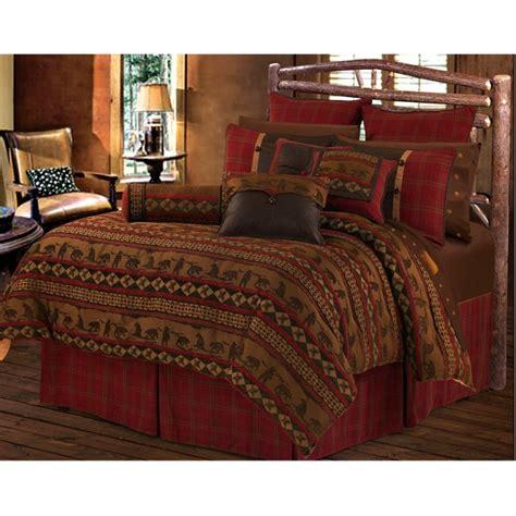 lodge comforter sets cascade lodge comforter sets