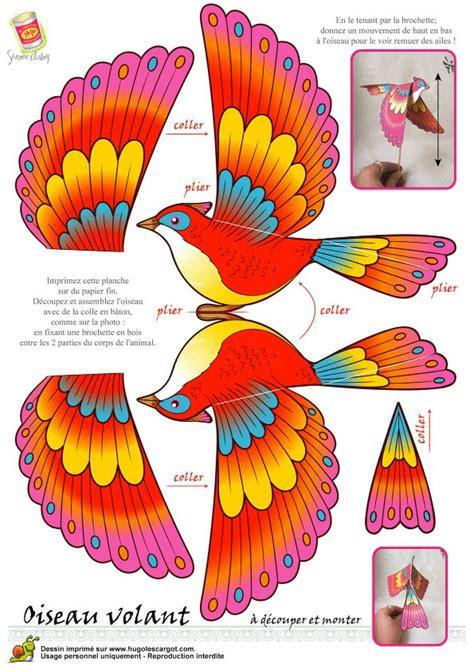Paper Bird Craft Template - 343 best craft birds images on diy