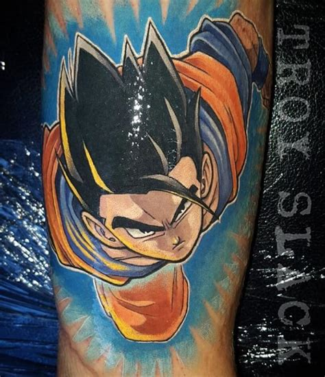 dragon ball z tattoo sleeve z best ideas gallery
