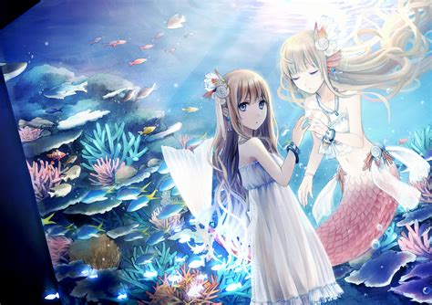 anime for android mermaid anime android wallpapers 11371 amazing wallpaperz
