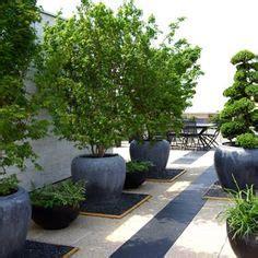 Kreativer Sichtschutz Garten 3133 terrasse gestalten mit gro 223 en blument 246 pfen olivenb 228 ume