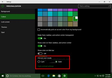 dark theme for windows 10 home how to enable dark theme in windows 10 anniversary update
