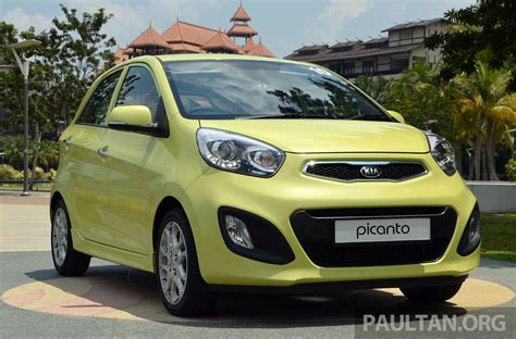 Kia Picanto Malaysia Driven Kia Picanto 1 2l Automatic And Manual Image 205150