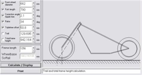 Motorrad Gabel Nachlauf by Sscycle Technik F 252 R Custom Bikes