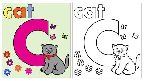 printable letter c coloring pages 2622532