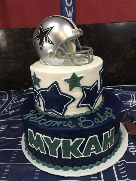 Dallas Cowboys Baby Shower Cake by Dallas Cowboys Baby Shower Cake Dallas Cowboys Baby