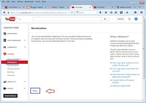 google adsense tutorial ita youtuber for step by step melakukan monetisasi video