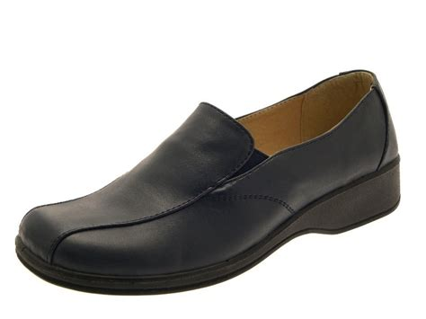 womens work shoes comfort womens low heel comfort flexi work shoes ladies cushioned
