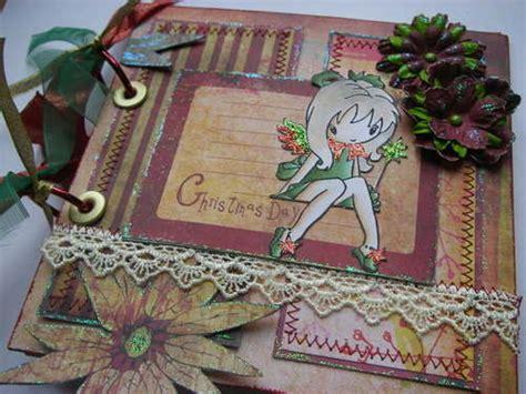 Handmade Scrapbook Albums - ooak handmade day scrapbook photo album