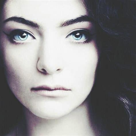 lorde makeup tutorial image gallery lorde eyes