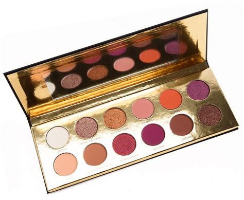Coloured Raine Pressed Powder Shadow Palette 2251 coloured raine of hearts eyeshadow palette temptalia bloglovin