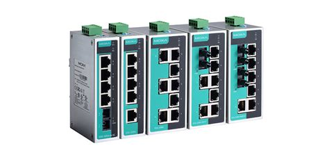 Moxa Eds 205a Ethernet Switches eds 205a 208a 5 and 8 port unmanaged ethernet switches