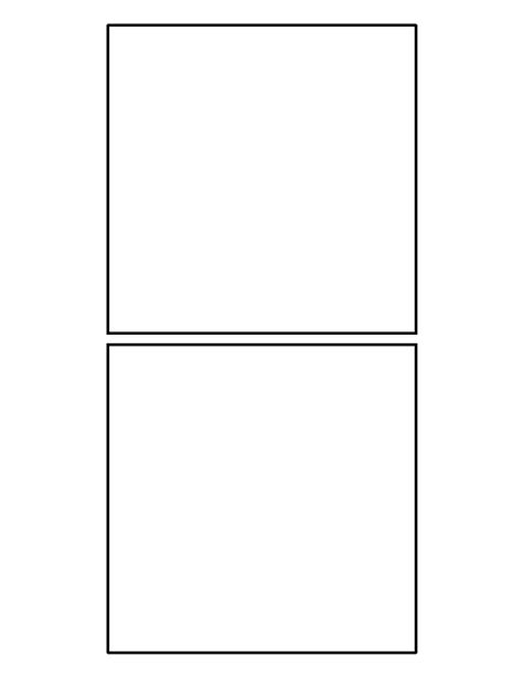 printable square ruler with guide and cut out 5 inch square pattern use the printable outline for