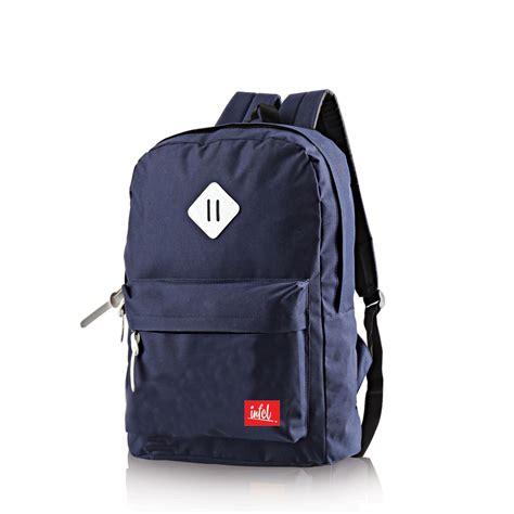 Ransel Backpack Wanita Fashion Simple Modis Kuliah Sekolah Tas Keren jual tas ransel wanita pria sekolah punggung gendong model
