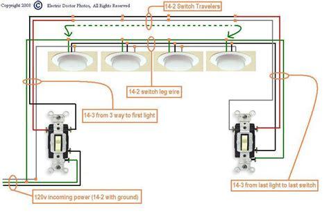 power through fluorescent lights in series wiring