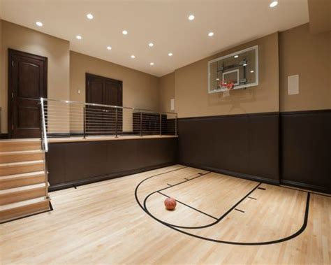 Basketball Court In Backyard Cost Indoor Basketball Court Home Design Ideas Pictures