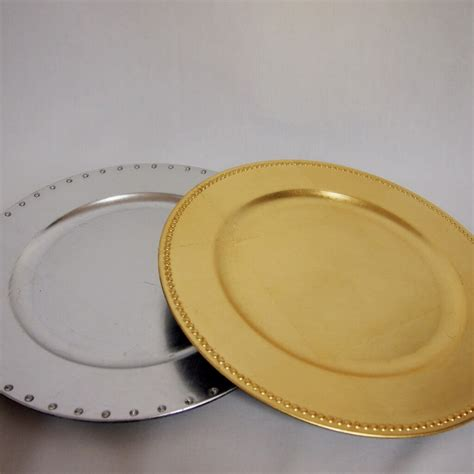covers decoration hire charger plates  hire