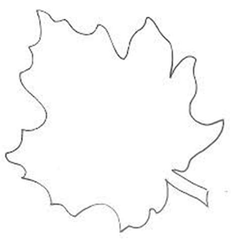 Simple Leaf Outline by 9 Best Images About Template Outlines On