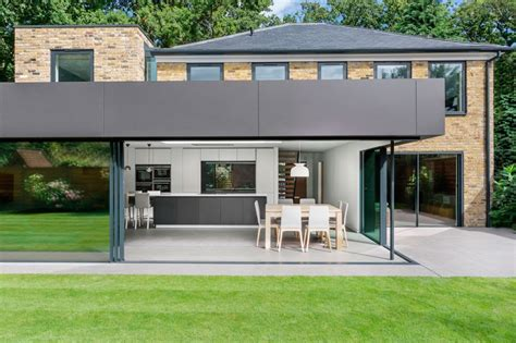 Modern Extension Enriches Neo Georgian Home In London Design A House Extension