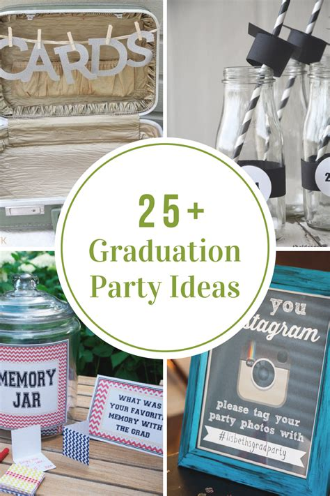 party tips diy graduation party ideas the idea room