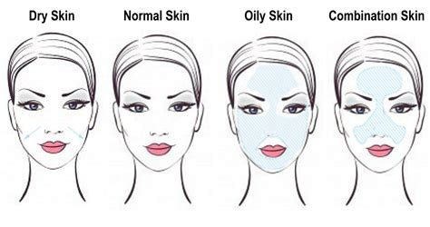 skin care how to determine your skin type oily dry etc skin types
