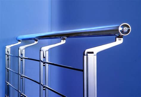 Stainless Steel Banisters by Marretti Srl Stainless Steel Banister 2 External