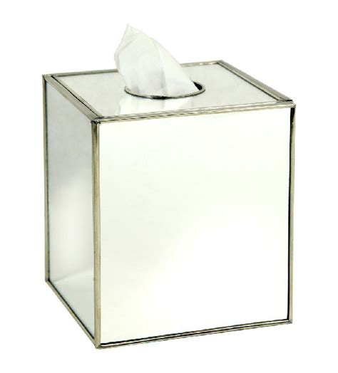 mirrored bath accessories mirrored wastebasket bath set
