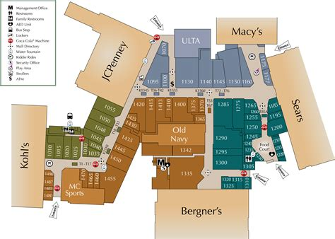 layout for mall mall directory eastland mall